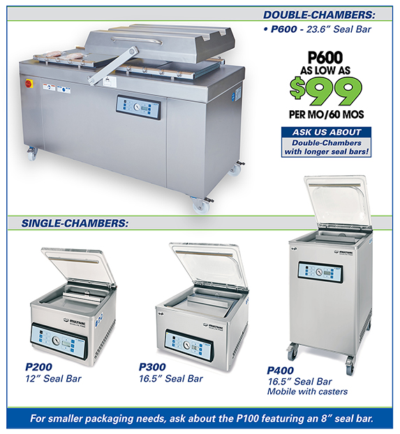Multivac Payment Plans for Vacuum Chamber Sealer Machines