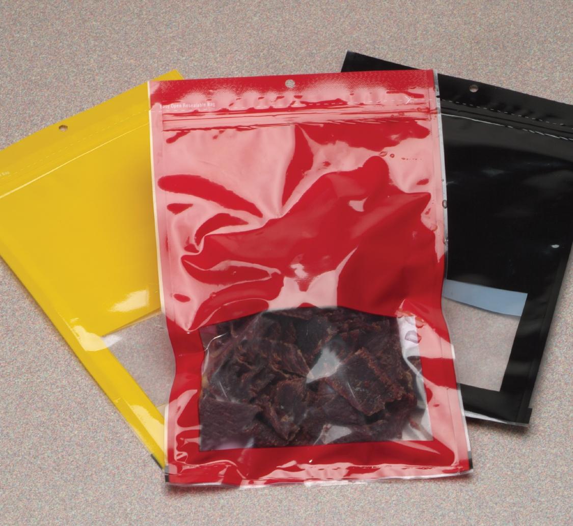colored zipper vacuum pouches