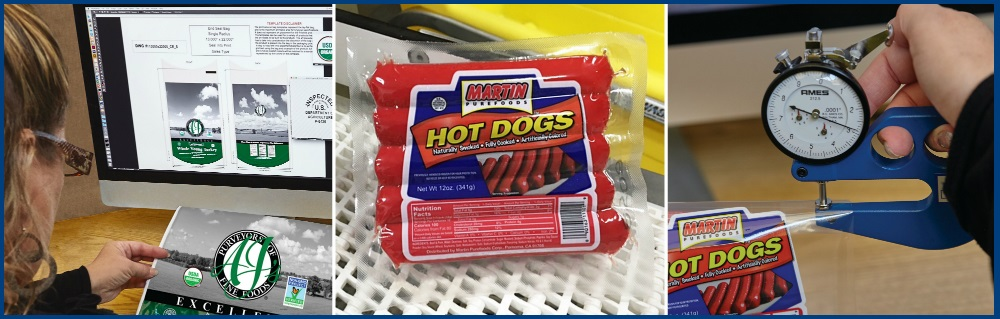 Graphic Design Specialists Hot Dog Packaging